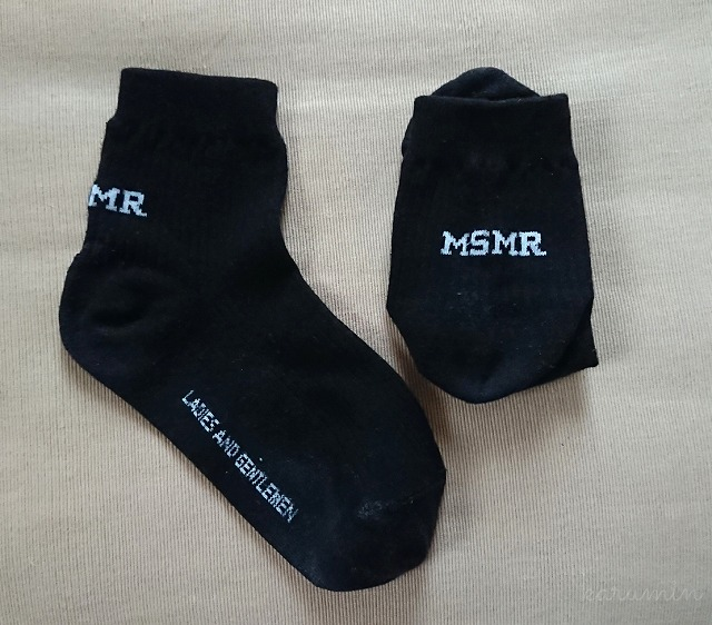 MSMRの靴下